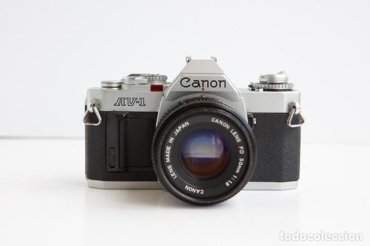 Cámara de fotos: Canon AV-1 Reflex + Lente Canon 50mm 1.8 Camara Reflex 35mm 35 mm Analogica - Foto 2 - 160041454