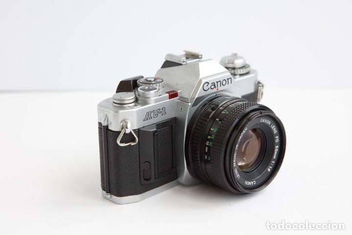 Cámara de fotos: Canon AV-1 Reflex + Lente Canon 50mm 1.8 Camara Reflex 35mm 35 mm Analogica - Foto 3 - 160041454