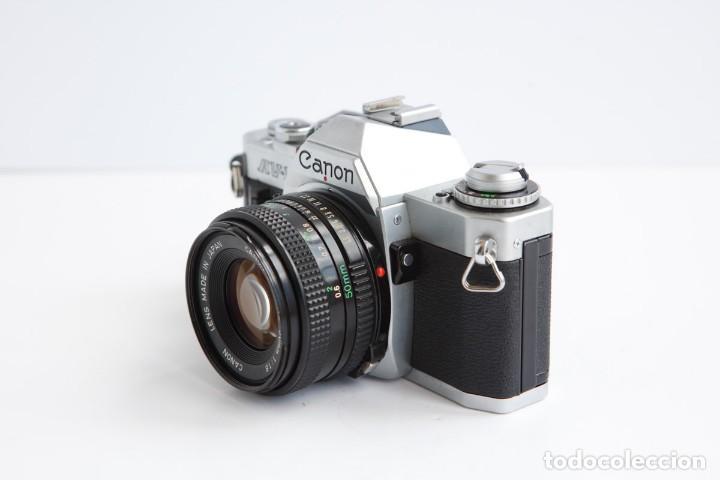 Cámara de fotos: Canon AV-1 Reflex + Lente Canon 50mm 1.8 Camara Reflex 35mm 35 mm Analogica - Foto 4 - 160041454