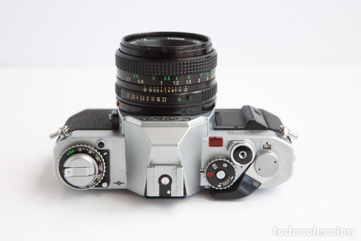 Cámara de fotos: Canon AV-1 Reflex + Lente Canon 50mm 1.8 Camara Reflex 35mm 35 mm Analogica - Foto 6 - 160041454