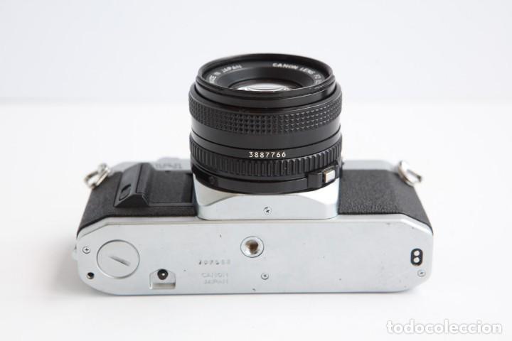 Cámara de fotos: Canon AV-1 Reflex + Lente Canon 50mm 1.8 Camara Reflex 35mm 35 mm Analogica - Foto 7 - 160041454