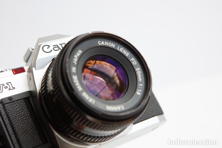 Cámara de fotos: Canon AV-1 Reflex + Lente Canon 50mm 1.8 Camara Reflex 35mm 35 mm Analogica - Foto 8 - 160041454