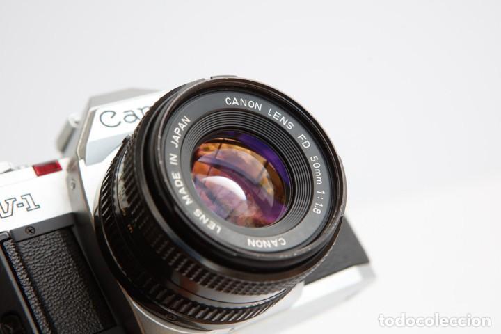 Cámara de fotos: Canon AV-1 Reflex + Lente Canon 50mm 1.8 Camara Reflex 35mm 35 mm Analogica - Foto 9 - 160041454