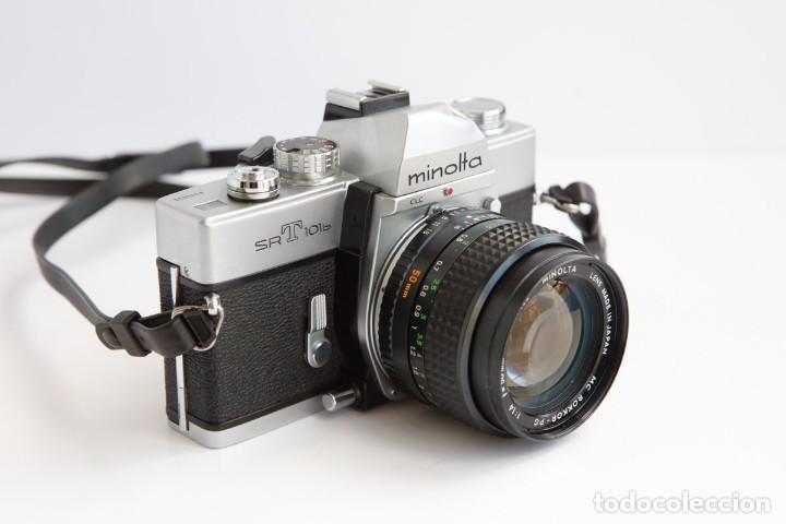 Cámara de fotos: Minolta SRT 101b + Minolta MC Rokkor PG 50mm 1.4 Camara Reflex 35mm Anlogica - Foto 3 - 160045798