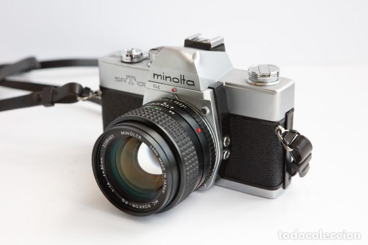 Cámara de fotos: Minolta SRT 101b + Minolta MC Rokkor PG 50mm 1.4 Camara Reflex 35mm Anlogica - Foto 4 - 160045798