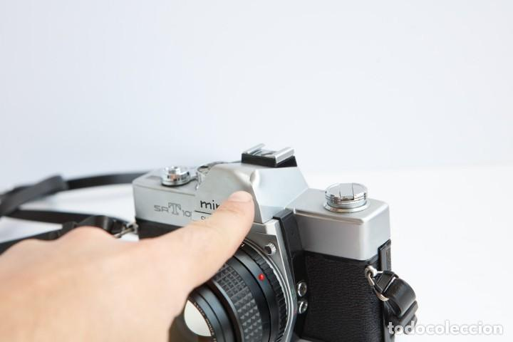 Cámara de fotos: Minolta SRT 101b + Minolta MC Rokkor PG 50mm 1.4 Camara Reflex 35mm Anlogica - Foto 5 - 160045798