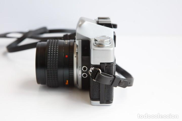 Cámara de fotos: Minolta SRT 101b + Minolta MC Rokkor PG 50mm 1.4 Camara Reflex 35mm Anlogica - Foto 6 - 160045798