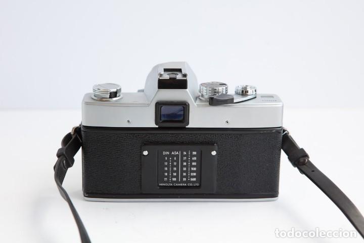 Cámara de fotos: Minolta SRT 101b + Minolta MC Rokkor PG 50mm 1.4 Camara Reflex 35mm Anlogica - Foto 7 - 160045798