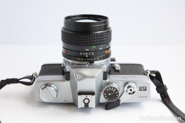 Cámara de fotos: Minolta SRT 101b + Minolta MC Rokkor PG 50mm 1.4 Camara Reflex 35mm Anlogica - Foto 8 - 160045798