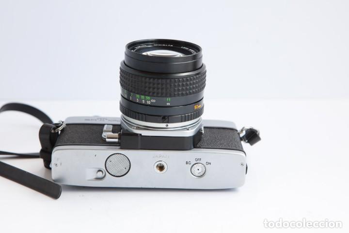 Cámara de fotos: Minolta SRT 101b + Minolta MC Rokkor PG 50mm 1.4 Camara Reflex 35mm Anlogica - Foto 9 - 160045798