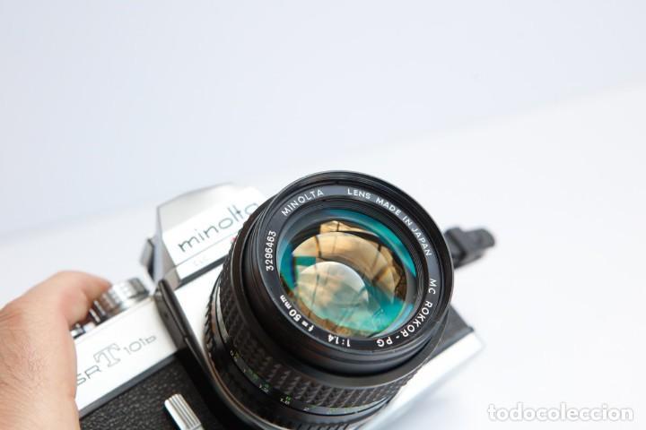 Cámara de fotos: Minolta SRT 101b + Minolta MC Rokkor PG 50mm 1.4 Camara Reflex 35mm Anlogica - Foto 10 - 160045798