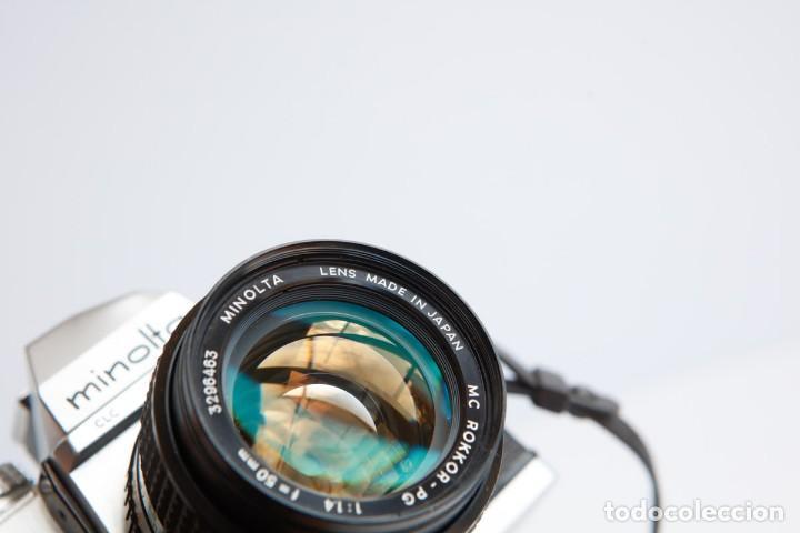 Cámara de fotos: Minolta SRT 101b + Minolta MC Rokkor PG 50mm 1.4 Camara Reflex 35mm Anlogica - Foto 11 - 160045798