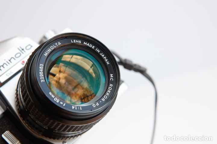 Cámara de fotos: Minolta SRT 101b + Minolta MC Rokkor PG 50mm 1.4 Camara Reflex 35mm Anlogica - Foto 12 - 160045798