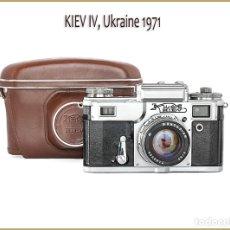 Photo camera - CÁMARA KIEV 4, TELEMÉTRICA RUSA DEL AÑO 1971, EN EXCELENTE ESTADO. - 60540255