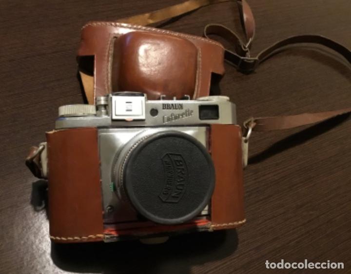 Cámara de fotos: Cámara fotográfica Braun colorette Perfecto estado - Foto 7 - 161037486