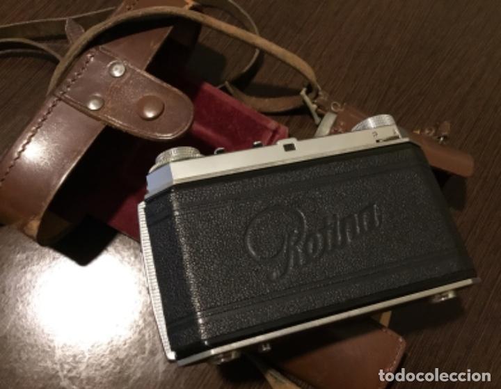 Cámara de fotos: Cámara fotográfica Kodak retina En su estuche perfecta - Foto 6 - 161041314