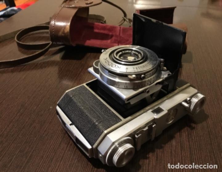 Cámara de fotos: Cámara fotográfica Kodak retina En su estuche perfecta - Foto 7 - 161041314