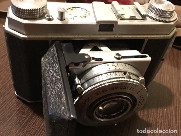 CÁMARA FOTOGRÁFICA KODAK RETINA EN SU ESTUCHE PERFECTA (Cámaras Fotográficas - Clásicas (no réflex))
