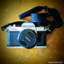 Cámara de fotos: CAMARA K1000 PENTAX CON OBJETIVO Y FLASH. Lote 161484666