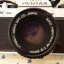 Cámara de fotos: PENTAX K1000 AÑOS 70. Lote 161901830