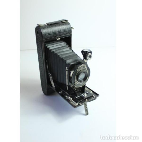 Cámara de fotos: Antigua cámara de fotos de fuelle Kodak - Foto 2 - 164147950
