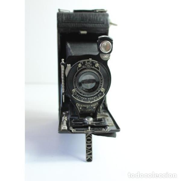 Cámara de fotos: Antigua cámara de fotos de fuelle Kodak - Foto 3 - 164147950
