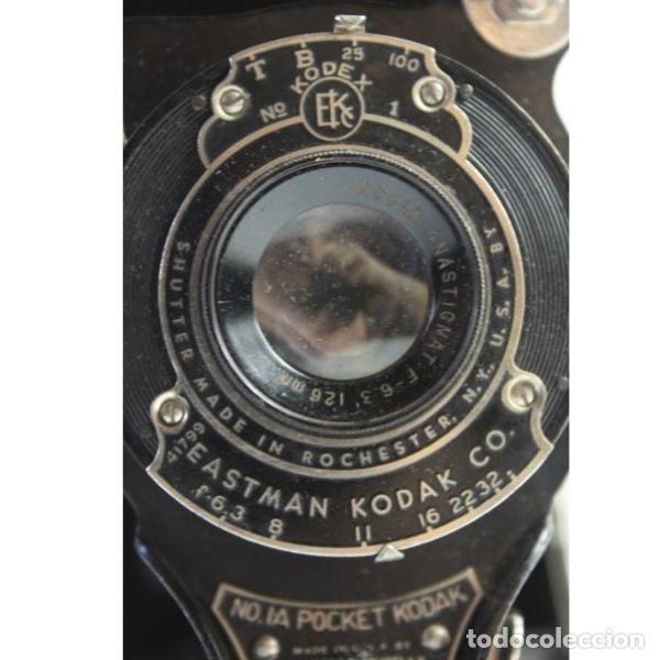 Cámara de fotos: Antigua cámara de fotos de fuelle Kodak - Foto 8 - 164147950