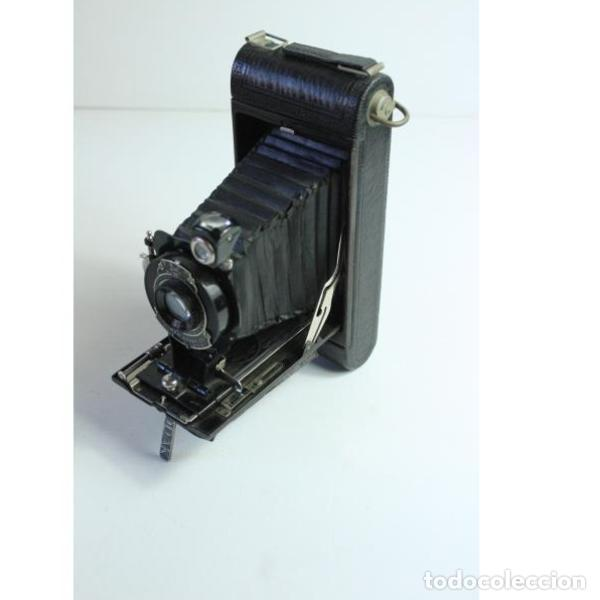 Cámara de fotos: Antigua cámara de fotos de fuelle Kodak - Foto 11 - 164147950