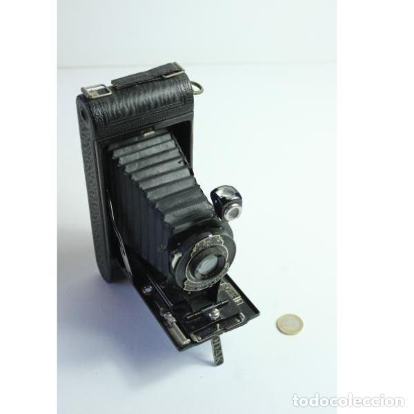 Cámara de fotos: Antigua cámara de fotos de fuelle Kodak - Foto 14 - 164147950
