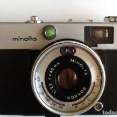 Cámara de fotos: MINOLTA HI-MATIC C (1970). Lote 165069354