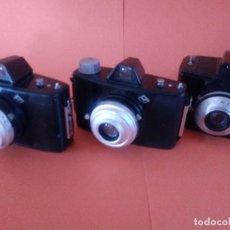 Cámara de fotos: 3 CAMARAS AGFA. CLICK I. CLICK II. Y CLACK. Lote 165291630