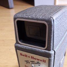Cámara de fotos: ANTIGUA VIDEOCAMARA BELL & HOWELL SÚPER 8. Lote 165793401