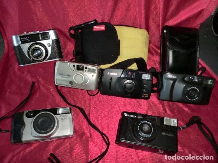 INCREIBLE LOTE DE LAS MEJORES MARCAS DE CAMARAS FOTOGRAFICAS CLASICAS (Cámaras Fotográficas - Clásicas (no réflex))