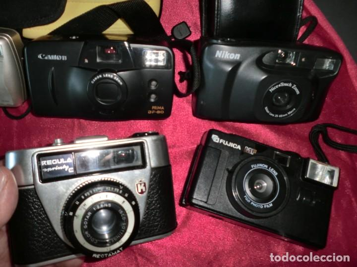 Cámara de fotos: INCREIBLE LOTE DE LAS MEJORES MARCAS DE CAMARAS FOTOGRAFICAS CLASICAS - Foto 4 - 166465650