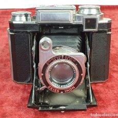 Cámara de fotos: CAMARA FOTOGRAFICA. ZEISS IKON. SUPER IKONTA. CARL ZEISS. ALEMANIA. CIRCA 1950.. Lote 166870820