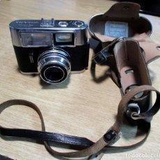 Cámara de fotos: CAMARA FOTOGRAFICA MARCA VOIGTLANDER VITRONA. ALEMANIA 1964. CON FLASH INCORPORADO. LOTE-0001. Lote 167097120
