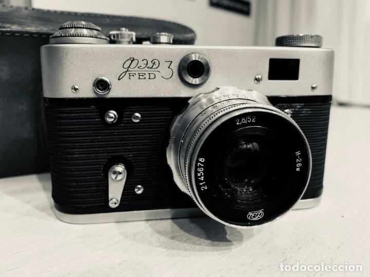 FED 3 (Cámaras Fotográficas - Clásicas (no réflex))