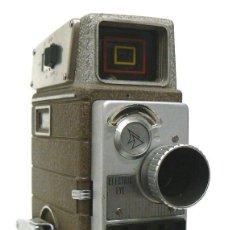 Cámara de fotos: ANTIGUA CÁMARA TOMAVISTAS DE CINE 8MM DOUBLE8 BELL & HOWELL ELECTRIC EYE. Lote 167609660