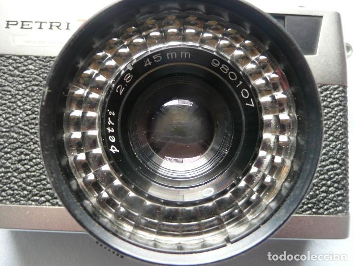 Cámara de fotos: CAMARA CLASICA DE TELEMETRO -PETRI 7s II-(AÑOS 60) - Foto 8 - 167718624
