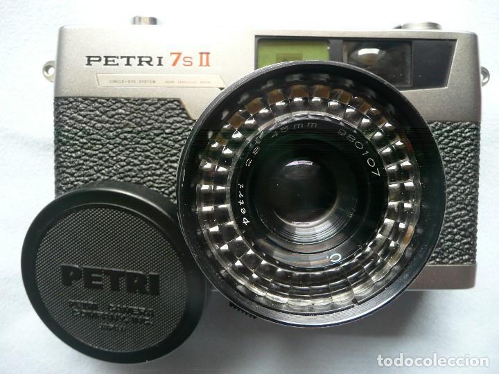 Cámara de fotos: CAMARA CLASICA DE TELEMETRO -PETRI 7s II-(AÑOS 60) - Foto 4 - 167718624