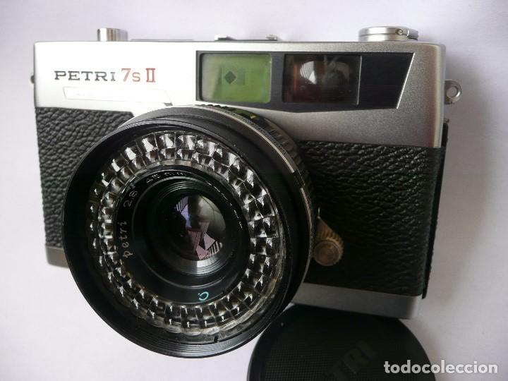 CAMARA CLASICA DE TELEMETRO -PETRI 7S II-(AÑOS 60) (Cámaras Fotográficas - Clásicas (no réflex))