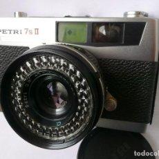 Cámara de fotos: CAMARA CLASICA DE TELEMETRO -PETRI 7S II-(AÑOS 60). Lote 167718624