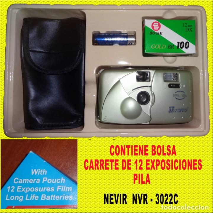 CAMARA NEVIR NVR - 3022 COMPLETA CON FUNDA (Cámaras Fotográficas - Clásicas (no réflex))