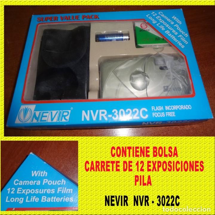 Cámara de fotos: CAMARA NEVIR NVR - 3022 COMPLETA CON FUNDA - Foto 2 - 167985012