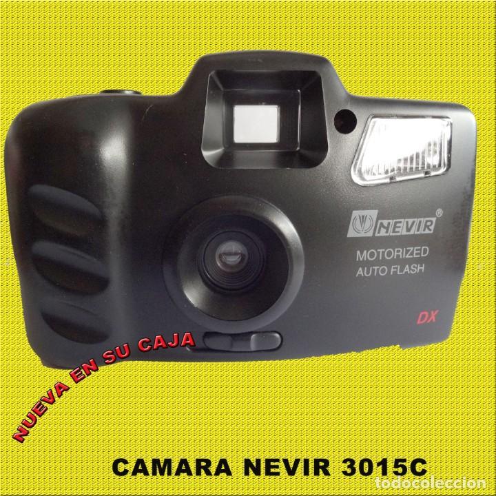 CAMARA NEVIR NVR - 3015C NUEVA EN SU CAJA CON FUNDA (Cámaras Fotográficas - Clásicas (no réflex))