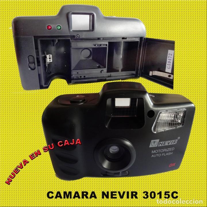Cámara de fotos: CAMARA NEVIR NVR - 3015C NUEVA EN SU CAJA CON FUNDA - Foto 2 - 167985832