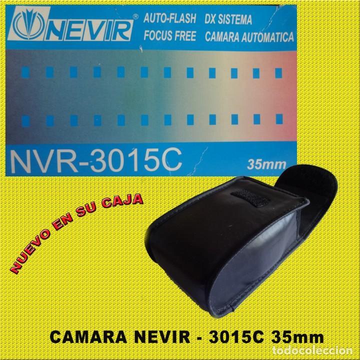 Cámara de fotos: CAMARA NEVIR NVR - 3015C NUEVA EN SU CAJA CON FUNDA - Foto 3 - 167985832