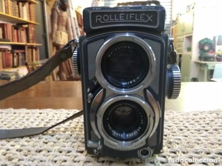 Cámara de fotos: rolleiflex baby + funda y accesorio. en perfecto estado de uso - Foto 2 - 168269456