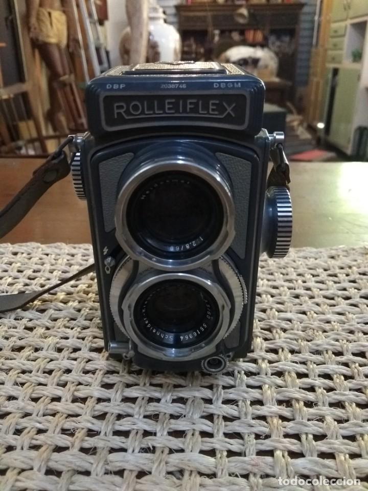Cámara de fotos: rolleiflex baby + funda y accesorio. en perfecto estado de uso - Foto 3 - 168269456