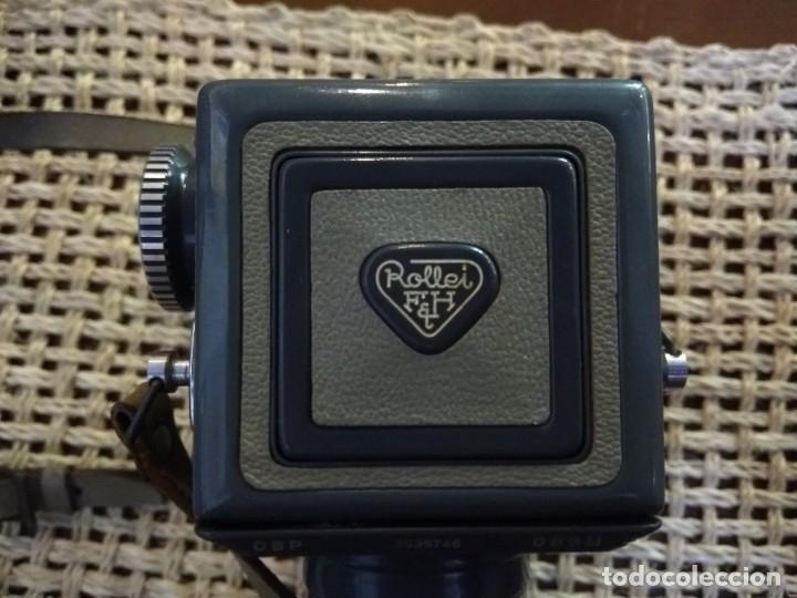 Cámara de fotos: rolleiflex baby + funda y accesorio. en perfecto estado de uso - Foto 7 - 168269456